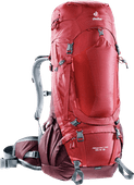 Deuter Aircontact Pro 55L + 15L Cranberry/Aubergine - Slim Fit