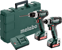 Metabo PowerMaxx BS 12 + PowerMaxx SSD 12 Combi Set