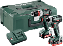 Metabo PowerMaxx BS 12 BL Q + PowerMaxx SSD 12 BL Combi Set