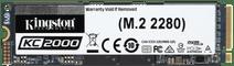 Kingston 500GB KC2000 M.2 2280 NVMe SSD