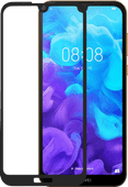 Azuri Rinox Huawei Y5 (2019) Screen protector Tempered Glass Black