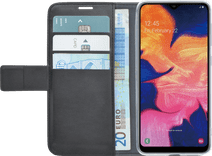 Azuri Wallet Magnet Samsung Galaxy A10 Book Case Black