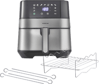 Inventum Hetelucht friteuse GF500HLD