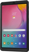 Just In Case Heavy Duty Samsung Galaxy Tab A 10.1 (2019) Full Body Case Black