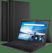 Just in Case Premium Bluetooth Lenovo Tab M10 Toetsenbord Hoes Zwart QWERTY