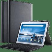 Just in Case Premium Bluetooth Lenovo Tab P10 Toetsenbord Hoes Zwart QWERTY