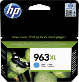 HP 963XL Cartridge Cyaan