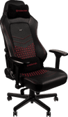 Noblechairs HERO Gaming Chair Genuine Leather - black / red