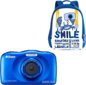 Nikon Coolpix W150 Backpack Kit Blue