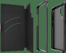 GEAR4 Oxford Samsung Galaxy Note 10 Plus Book Case Black