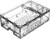 Multicomp Pro Raspberry Pi 4 casing - Transparent