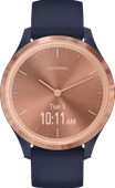 Garmin Vivomove 3S Sport - Rose Gold/Blue - 39mm