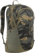The North Face Rodey 15 inches Burnt Olive Green/Waxed Camo 27L