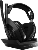 Astro A50 Wireless Gaming Headset + Base Station for PS5, PS4 - Black