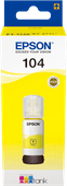 Epson 104 EcoTank Ink Bottle Yellow