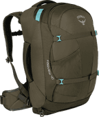 Osprey Fairview 40L Misty Gray - Slim Fit