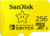 SanDisk MicroSDXC Extreme Gaming 256GB Nintendo licensed