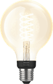 Philips Hue Filament Light White Globe E27 Bluetooth