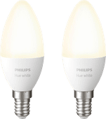 Philips Hue Kaarslamp White E14 Bluetooth Duo Pack