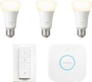 Philips Hue White Starter Pack E27 met dimmer