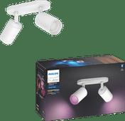 Philips Hue Fugato 2-Spot White & Colour Bluetooth wit