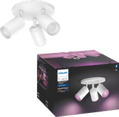Philips Hue Fugato 3-Spot White & Colour Bluetooth wit