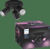 Philips Hue Fugato 3-Spot White & Colour Bluetooth zwart