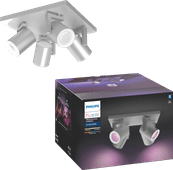Philips Hue Argenta 4-Spot White & Colour aluminium