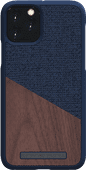 Nordic Elements Frejr Apple iPhone 11 Pro Back Cover Blauw/Hout