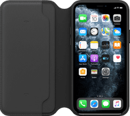Apple iPhone 11 Pro Leather Folio Zwart