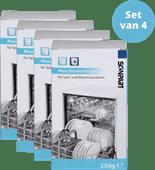 Scanpart Vaatwasser en Wasmachine Reiniger 4 stuks
