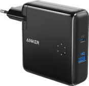 Anker PowerCore Fusion Oplader en Powerbank 5.000 mAh Power Delivery Zwart
