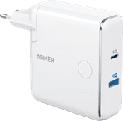 Anker PowerCore Fusion Oplader en Powerbank 5.000 mAh Power Delivery Wit
