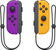 Nintendo Switch Joy-Con set Neon Paars/Neon Oranje