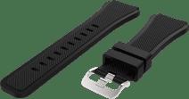 Just in Case Samsung Siliconen Bandje Zwart 22mm
