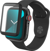 InvisibleShield Glass Fusion Apple Watch Series 5 40mm Screenprotector Plastic