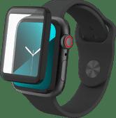 InvisibleShield Glass Fusion Apple Watch Series 6, SE, 5 en 4 40mm Screenprotector Plastic