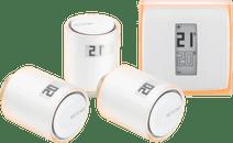 Netatmo Thermostaat + Netatmo NAV-EN 3-Pack