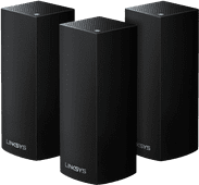Linksys Velop tri-band Multiroom wifi Zwart (3 stations)