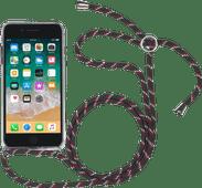 StilGut iPhone 7/8 Back Cover with Lanyard Transparent