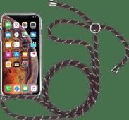 StilGut iPhone X/Xs Back Cover with Lanyard Transparent