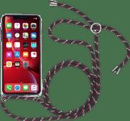 StilGut iPhone Xr Back Cover with Lanyard Transparent