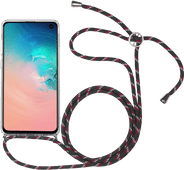 StilGut Samsung Galaxy S10 Back Cover with Lanyard Transparent