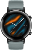 Huawei Watch GT 2 RVS Zwart/Cyan 42mm