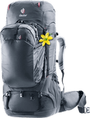 Deuter Aviant Voyager 60L + 10L Black - Slim Fit