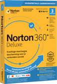 Norton 360 Deluxe 2020 | 3 Apparaten | 1 Jaar | 25GB | Windows/MAC/Android/iOS