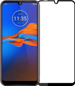 Just in Case Full Cover Motorola Moto E6 Plus Screen Protector Glass