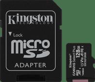 Kingston microSDXC Canvas Select Plus 128GB 100MB/s + SD Adapter