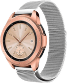 Just in Case Samsung Galaxy Watch Active2 Milanees Bandje Zilver