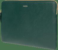 dbramante1928 Paris 13 inch MacBook Sleeve Leer Groen